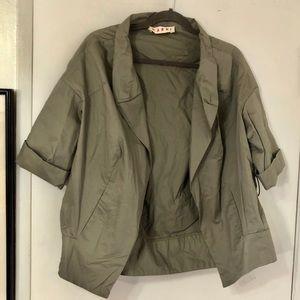 MARNI • Lightweight Cotton Short Sleeve Jacket 40